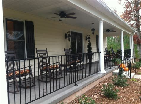 Metal Porch Rail metal front porch railings interesting ideas for home