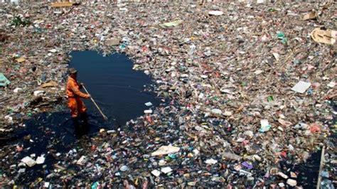 indonesia penyumbang sampah plastik  laut terbanyak kedua  dunia