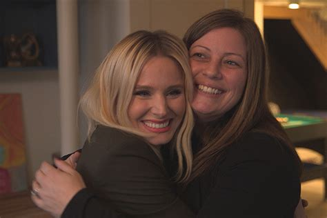 kristin bell houzz kristen bell surprises her sister with a basement reno