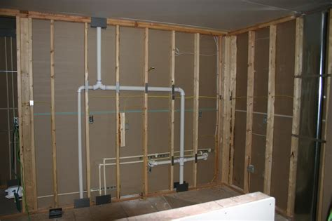wet venting basement bathroom basement bathroom plumbing vent new basement and tile