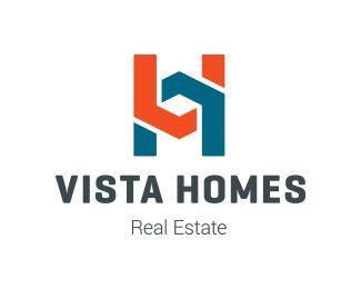 logo design vista vista homes designed by redf brandcrowd