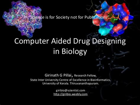 computer aided design drug adalah computer aided drug design discovery an overview