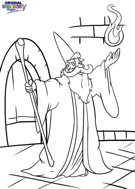 Wizard Coloring Pages Wizard Spell Coloring Page Coloring Pages Original by Wizard Coloring Pages
