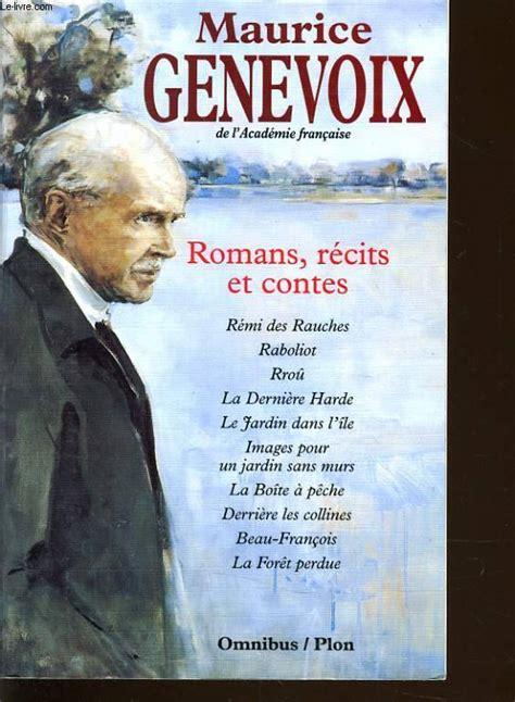 20 recits danticipation et livre romans r 233 cits et contes maurice genevoix plon omnibus 9782259180290 librairie