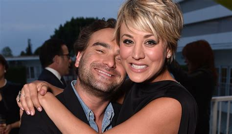 johnny galecki ellen kaley cuoco s tv wedding to johnny galecki on big bang