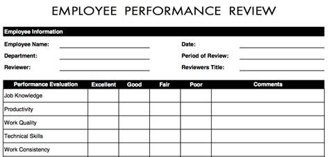 employee reviews templates employee performance review template bravebtr