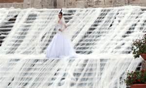 gianni molaro wedding dress  longest bridal train