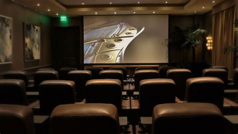 Real D Screening Room by Four Seasons Los Angeles Debuts 38 Seat Screening