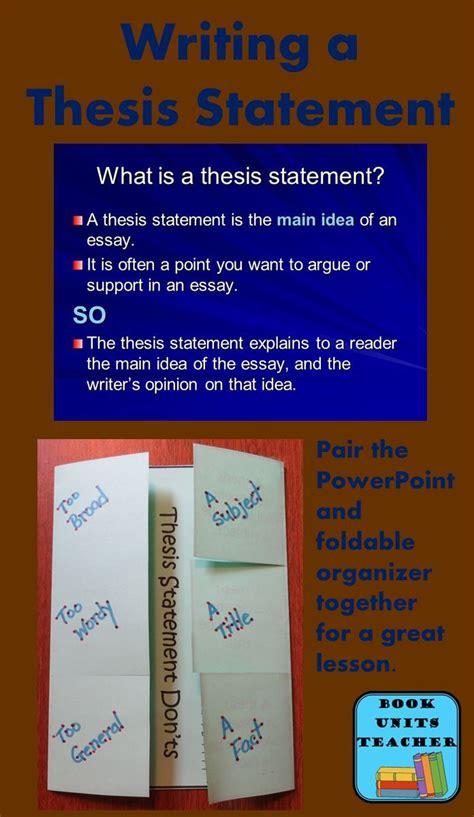 best 25 thesis statement format ideas on pinterest my teacher