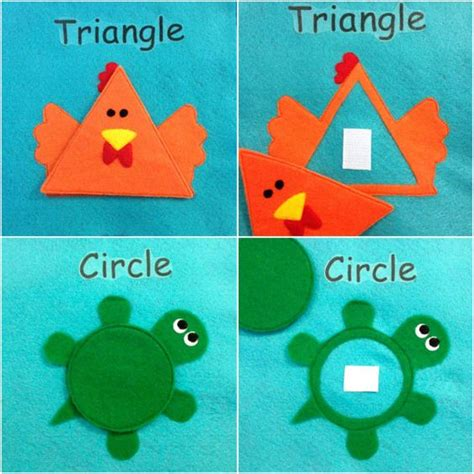 shapes quiet book pattern quiet book 12 pages cloth activity and learning busy