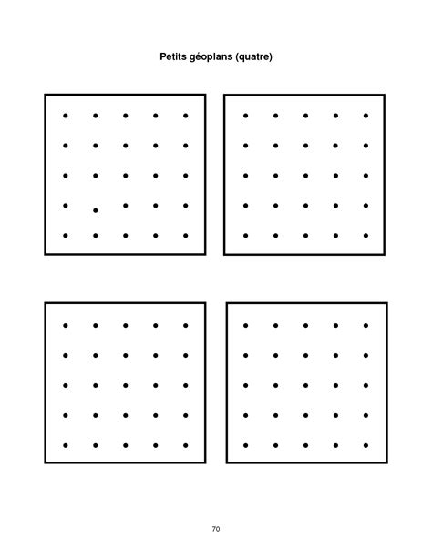 printable dot array paper 7 best images of square units worksheets multiplication
