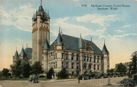 spokane county court house spokane county court house postcard
