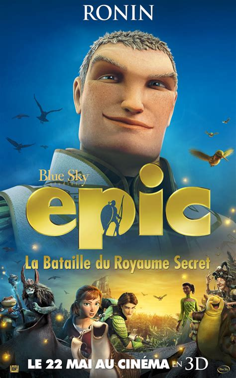 film animasi epic 2013 affiche du film epic la bataille du royaume secret