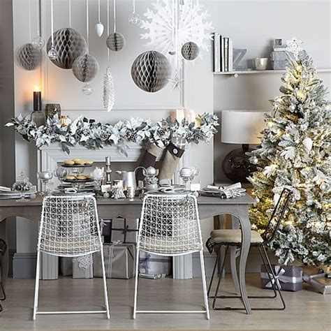 silver dining room grey and silver dining room decorating