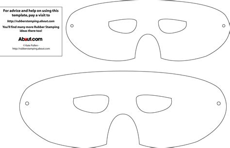 mask template for printable mask template crafty mask