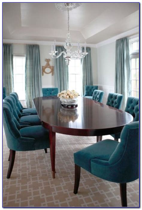 turquoise dining room chairs dining room home