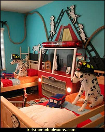 fire truck bedroom ideas decorating theme bedrooms maries manor fire truck