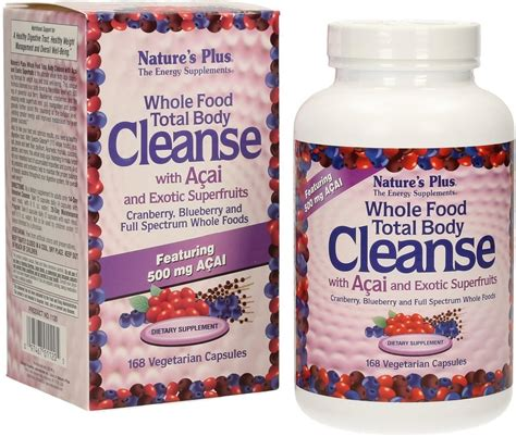 Whole Food Detox Plan by Whole Food Total Cleanse 168 Capsules Nature S