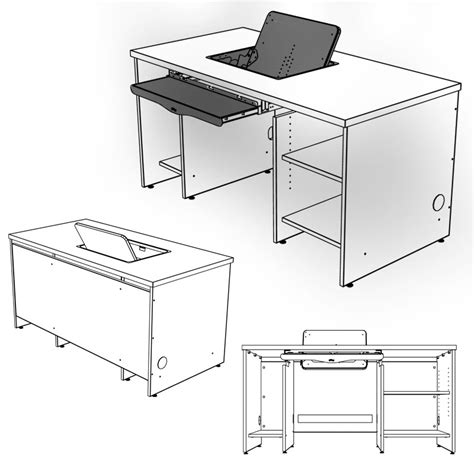 Computer Desk Dimensions Standard Computer Desk Size