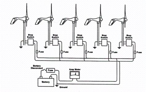 schematic for wiring wind turbine get free image about