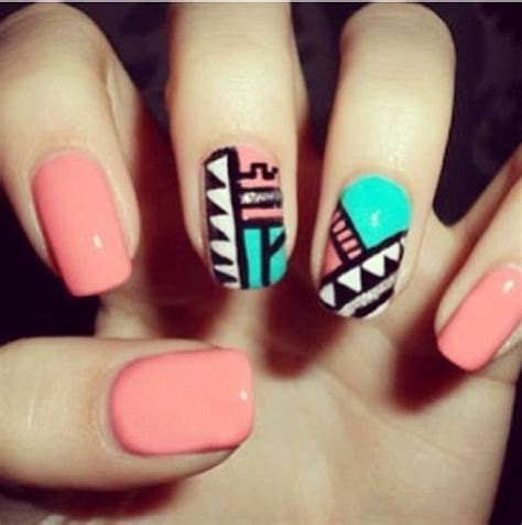 Nail Designs Tribal tribal nail design nails