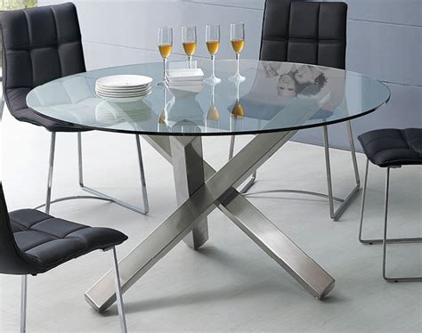 glass dining room table bases marceladick