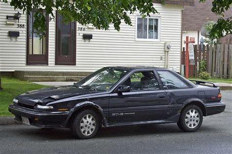 Toyota Corolla Weight 1989 Toyota Corolla Gts Weight