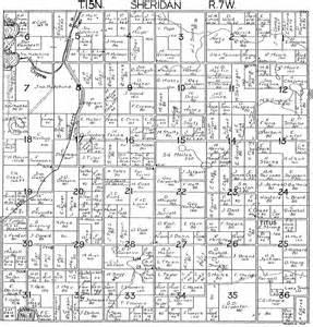 Michigan Plat Maps 1918 sheridan township mecosta county michigan plat map