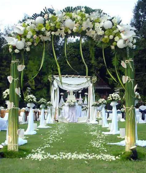 Hochzeitsdekoration Gr N by Hochzeitsdeko Mit Blumenschmuck Coole Hochzeitsdekoration