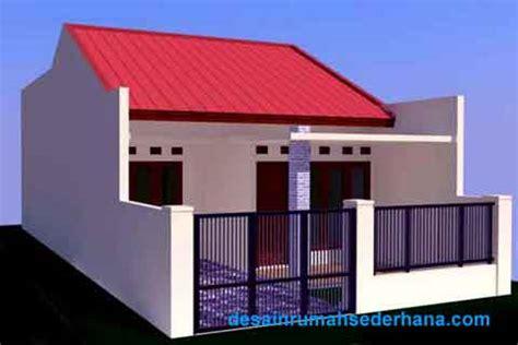 contoh desain rumah sederhana type  tanah     desainrumahsederhanacom