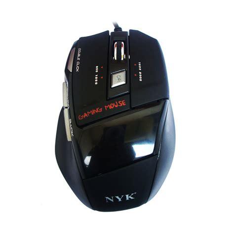 Mouse Nyk Gaming jual nyk nk 928 gaming mouse hitam harga kualitas terjamin blibli