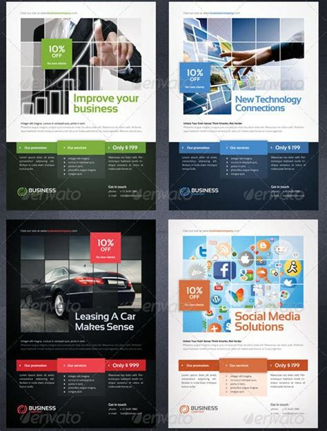 Flyer Templates 25 Options For Small Businesses Professional Flyer Templates