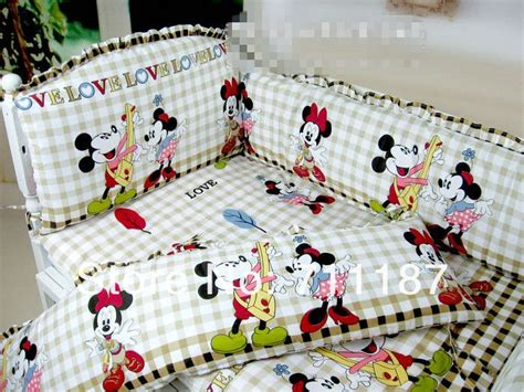 Mickey And Minnie Crib Bedding Mickey And Minnie Crib Bedding Set New Baby Productions Bedding Sets Bedding