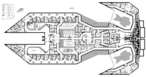 starship floor plan scifi starship blueprints rpg pub