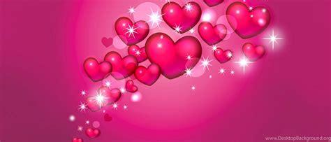 pink hearts  stars wallpapers desktop background