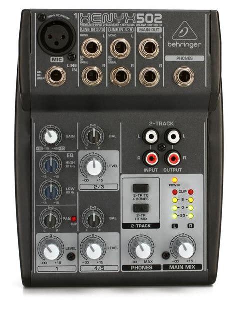 Daftar Mixer Behringer Terbaru behringer mixer xenyx q502 usb daftar update harga terbaru indonesia