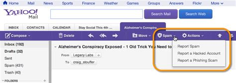 yahoo email junk top reasons why your email caigns generate spam complaints
