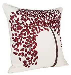 bluettek 174 18 quot x 18 quot embroidered cotton linen decorative