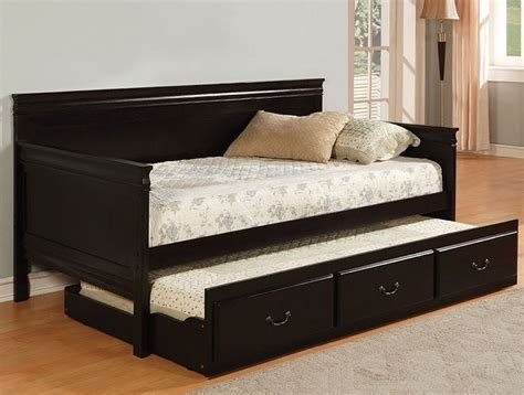 Daybed With Trundle And Storage Daybed With Trundle And Storage White Daybed With Storage Trundle Drawers Diy Projects La