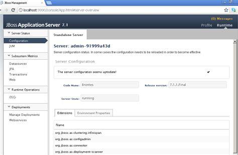 jboss url pattern web xml tutoriel wildfly 9 installation d 233 marrage arr 234 t