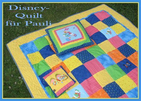 disney quilt f 252 r pauli stickb 228 r