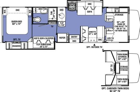 sunseeker motorhome floor plans 2016 forest river sunseeker 3170ds class c freedom rv az