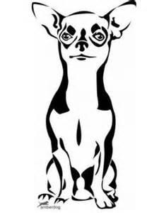 chihuahua tattoo on pinterest chihuahua art white
