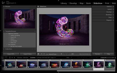 lightroom tutorial slideshow how to create a simple slideshow in lightroom