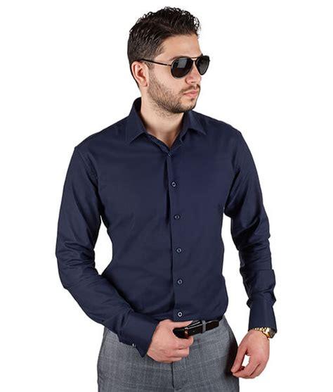 24135 Solid Blackgray Causal Dress blue dress shirt dress yp