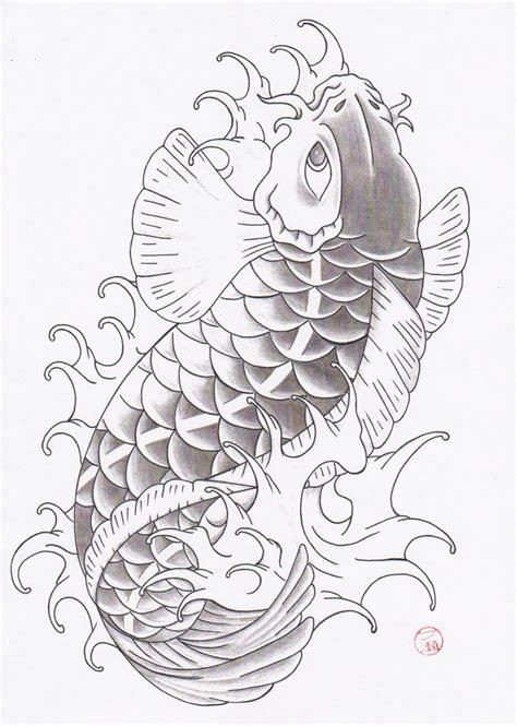 sket tattoo ikan koi forasteiro tattoo tattoo carpa