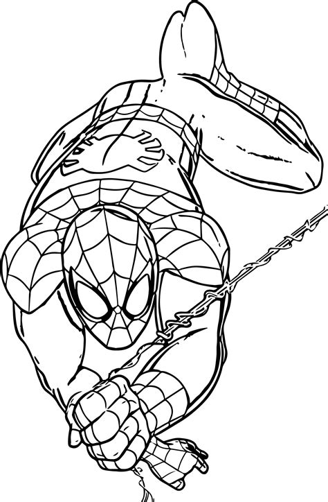 marvel coloring pages marvel universe ultimate spider spider coloring