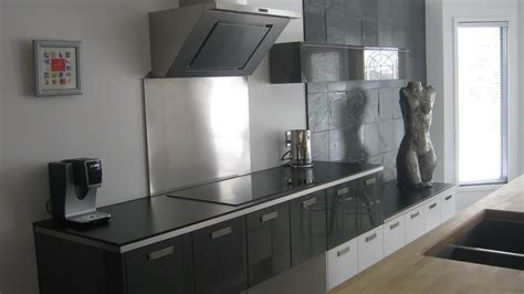 modern ikea stainless steel backsplash homesfeed