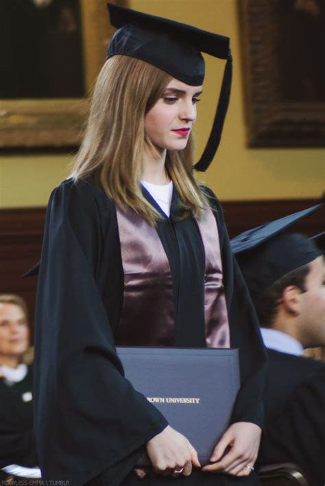 Emma Watson Degree | emma watson graduation style style pinterest role