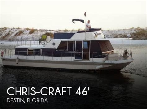 chris craft houseboats chris craft aqua home 46 for sale in ft walton beach fl